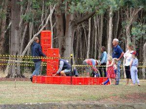 Crate Run at Henley on Mersey Australia Day Latrobe Council Tasmania