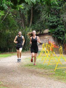 Fitness activities at Henley on Mersey Australia Day Latrobe Council Tasmania