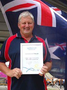 Awards at Henley on Mersey Australia Day Latrobe Council Tasmania