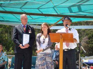 Ceremony at Henley on Mersey Australia Day Latrobe Council Tasmania