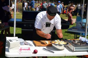 Henley on Mersey Food and Refreshments Spitting Competition Australia Day Latrobe Tasmania