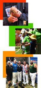 Henley on mersey Australia Day Festival Ferrets, Archery and Axemen