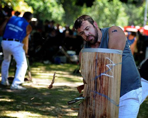 Latrobe Council Australia Day Axemen