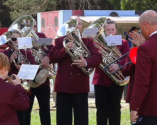 Henley on Mersey Federal Band musical entertainment